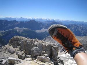 mit Schuhwiedu Schuhen unterwegs