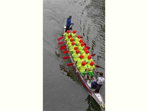 ein Boot voller Schuhmuckels