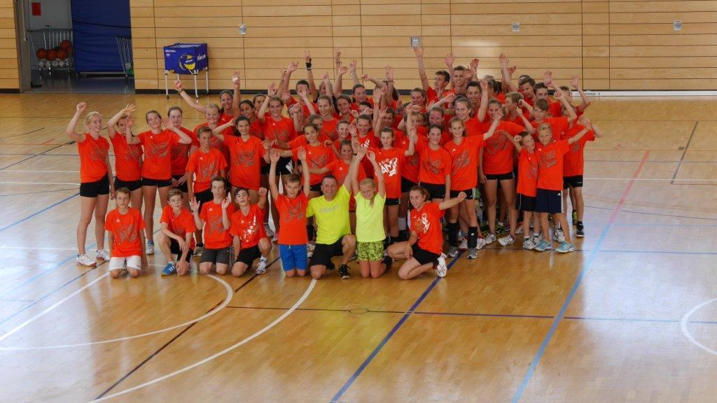 Training der Volleyballer