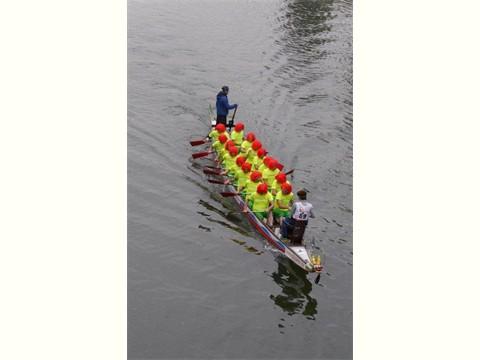 ein Boot voller Schuhmuckls